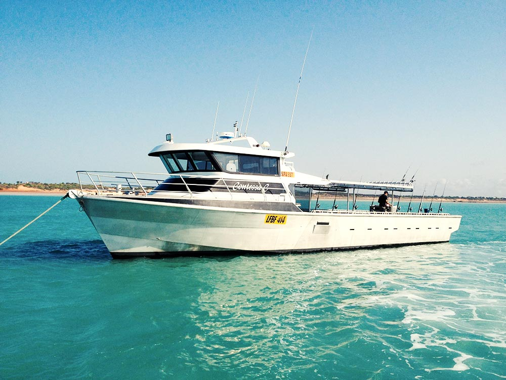 Overnight fishing charters absolute ocean charters broome for Charter fishing trip