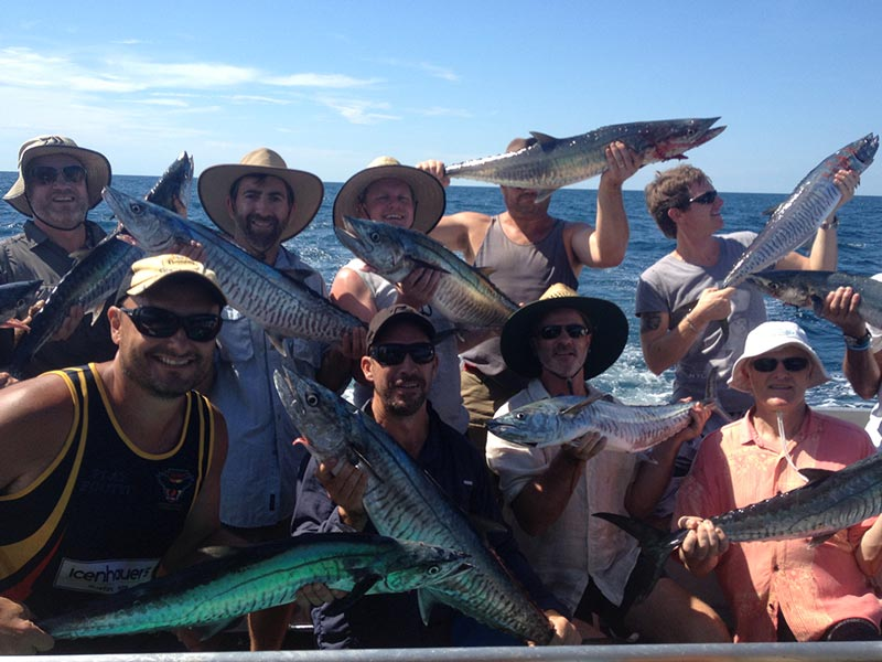Half Day Reef Fishing Charters