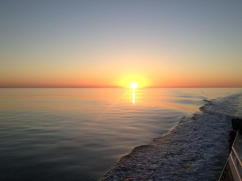 sunset fishing charters broome