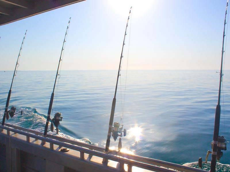 Sunset Fishing Broome WA