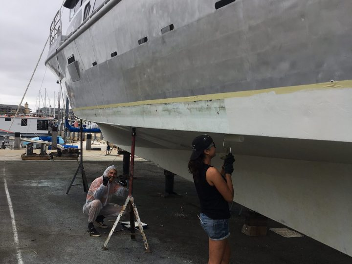 Behind the scenes of Absolute Ocean Charters