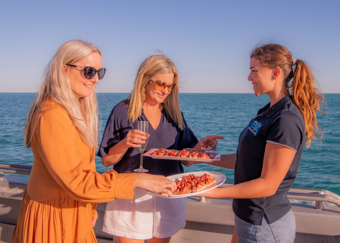 Food at Whale Watching Charters